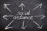 social distance photo