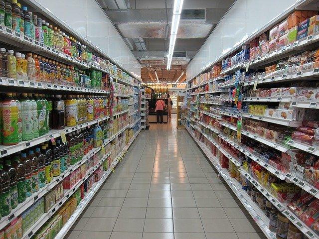 grocery aisle photo